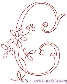 design patterns c free pattern monogram for embroidery the real c needlenthread