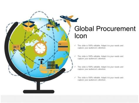 global procurement icon powerpoint  images