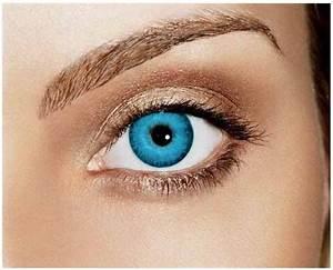 Caribbean Blue Coloured Lenses (Blends) Contacts | Good ...