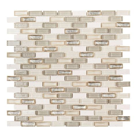 mosaic kitchen backsplash jeffrey court afternoon tea 11 1 2 in x 11 5 8 in x 6 mm 4284