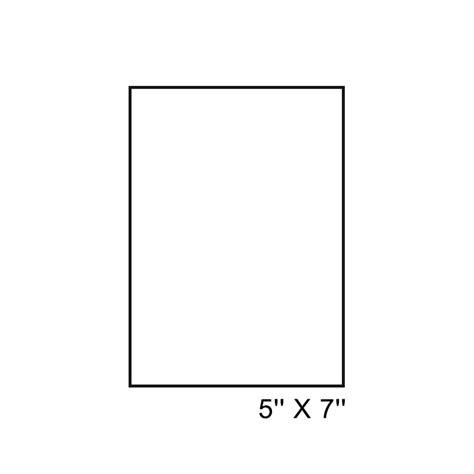 Sign  Laser 5'' X 7'' Polyselect