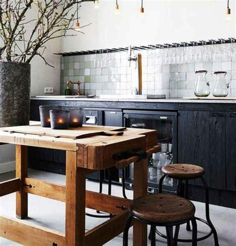 idee deco cuisine vintage cuisine industrielle l 39 élégance brute en 82 photos