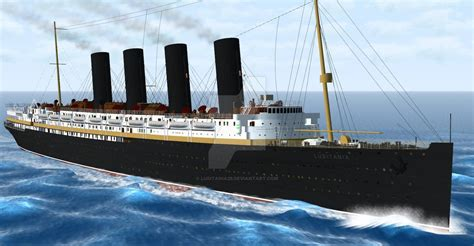 rms lusitania model sinking lusitania 3d model by lusitania25 on deviantart