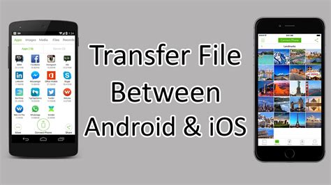 xender how to transfer files between android and ios