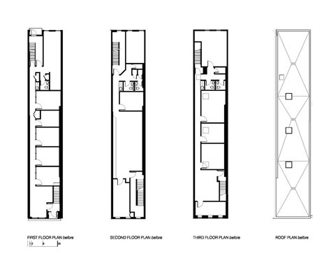 horizontal house plans town house in washington dc by robert gurney architect