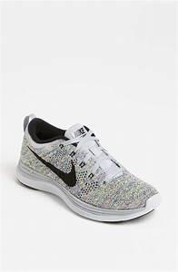 Nike Flyknit Lunar1 Running Shoe In Multicolor  Wolf Grey   Black
