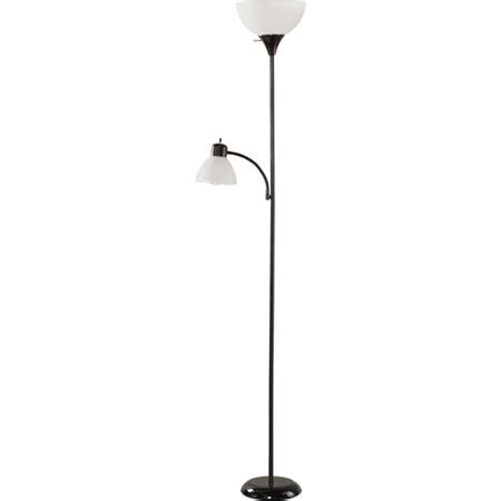 Walmart Reading Light by Mainstays Black Floor L With Reading Light And Cfl