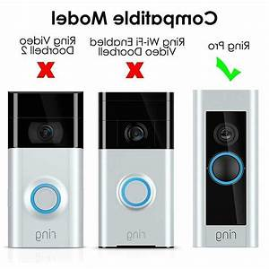 3 Pcs Adjustable Ring Doorbell Pro Angle Mount
