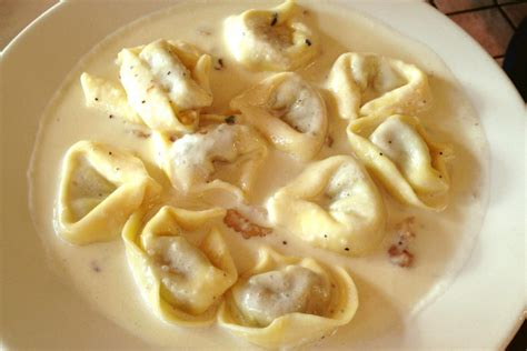 ot cuisine photo porcini tortellini with gorgonzola sauce from