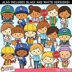 Occupation Kids Clip Art  Set 2 By Littlered  Teachers Pay Teachers