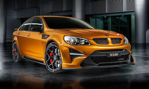 hsv reveals corvette zr powered gtsr  super sedan
