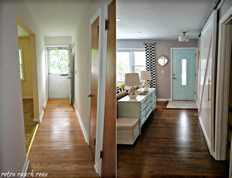 home interior remodeling retro ranch reno our rancher before after the entrance