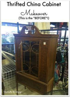 kitchen cabinet hutch best 25 china cabinet makeovers ideas on 2547