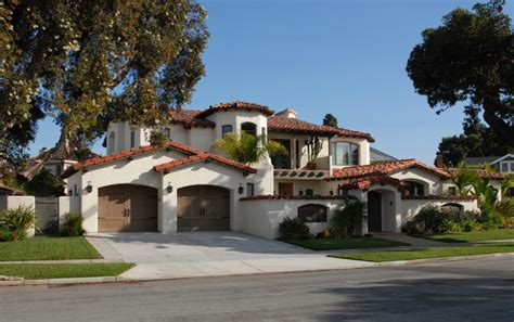 Spanish Colonial Style Homes - Mediterranean - Exterior