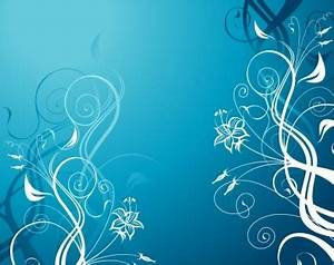 FREE 9+ Blue Floral Wallpapers in PSD | Vector EPS