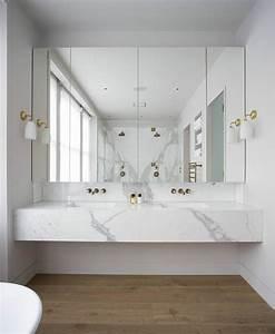 Salle De Bain Cosy : beaucoup d 39 id es en photos pour la salle de bain en marbre ~ Dailycaller-alerts.com Idées de Décoration