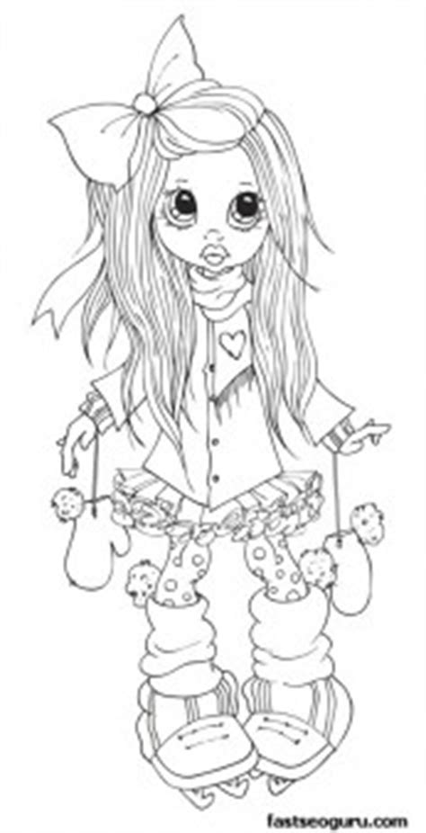 printable cute girle  skating coloring page  printable coloring pages  kids