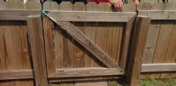 Deck Supports Home Depot by Repairing A Sagging Fence Gate With An Anti Sag Gate Kit