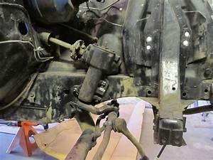 Power Steering Linkage Removal