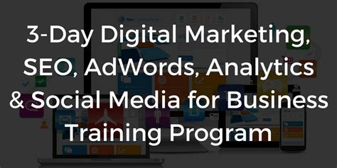 digital marketing weekend course digital marketing courses schedule 2017 dubai