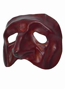 Tartaglia Venetian Leather Mask - maskworld com
