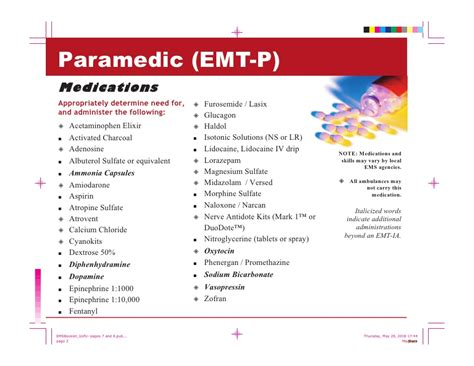 ems provider quick reference guide