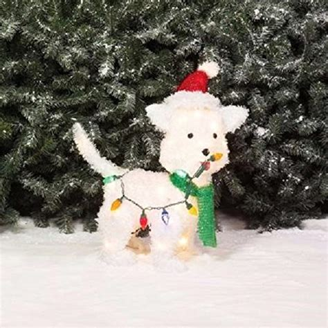 christmas puppy dogs lighted yard displays christmas wikii