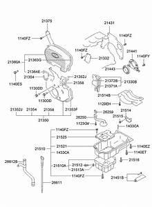 2001 Hyundai Sonata Screen Assembly - Oil