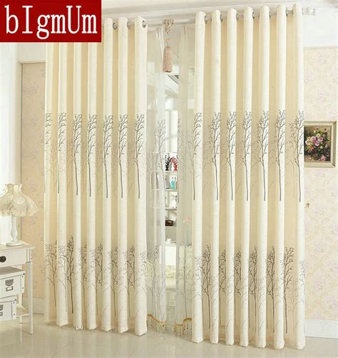 linen curtains for living room curtain simple rustic eco