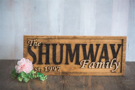 Buy A Handmade Personalized Family Name Sign Wedding Gift. Safty Stickers. Foot Print Signs. Chance Signs Of Stroke. Coffee Menu Signs Of Stroke. Presidential Murals. Clear Return Address Labels. Poker Signs Of Stroke. Make A Banner Sign