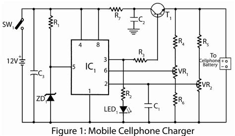 Mobile Cellphone Charger Circuit Diagram Electronic