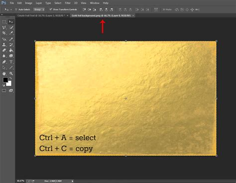 gold color photoshop sm editorial create gold foil text in photoshop