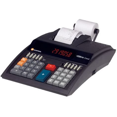 adler royal pd carat desktop printing calculator