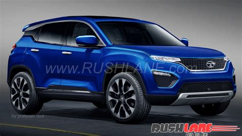 2018 Tata Harrier H5x Production Render Suv Launch