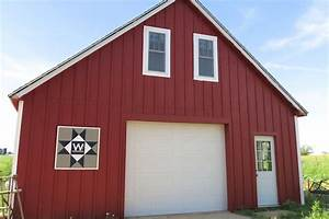 painting trim and other barn updates newlywoodwards With barnyard red paint