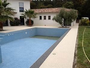 sur istres magnifique contour de piscine sans margelle en With plage piscine sans margelle 6 terrasse piscine grise