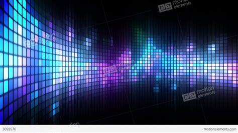 dance lights wall stock animation