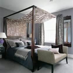 schlafzimmer himmelbett four poster bedroom with silks and velvets housetohome co uk