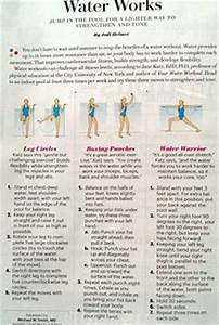 Printable Water Aerobic Exercises Resistance Band
