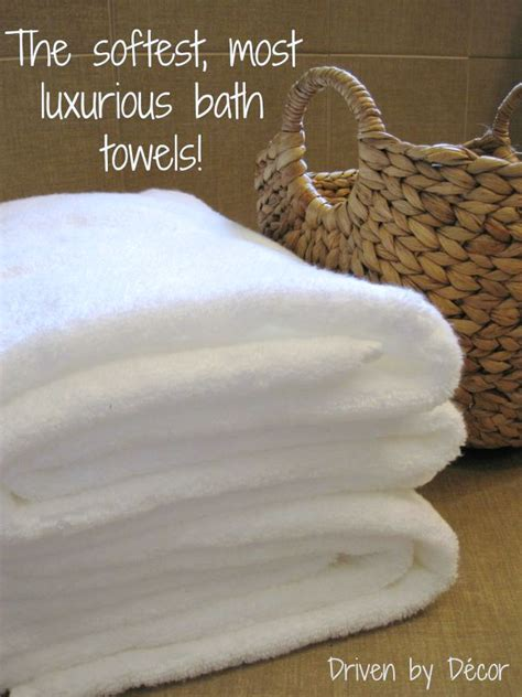 softest  luxurious bath towels