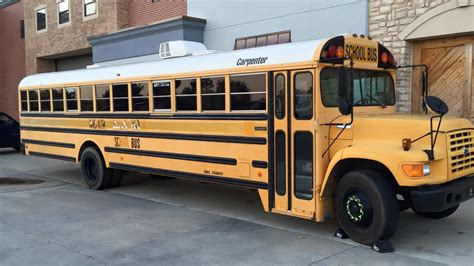 Oklahoma Man Turns A School Bus Into A Fully-functioning