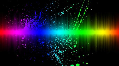Neon Light Live Wallpaper by Best Desktop Backgrounds Hd Wallpaper Rainbow