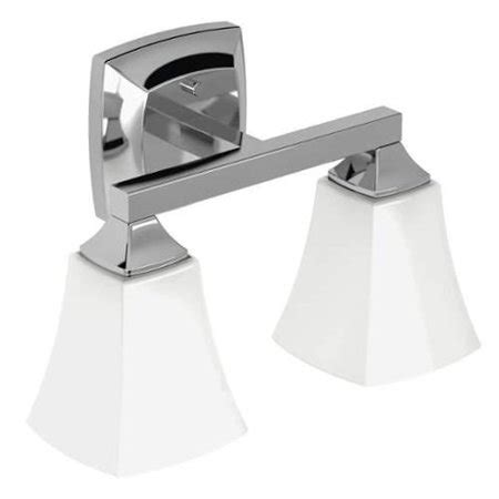 Moen Bathroom Light Fixtures by Moen Yb5162 Voss 14 Quot Wide 2 Light Reversible Bathroom
