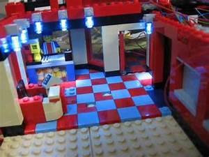 Lego Led Beleuchtung : lego city kino cinema mit led beleuchtung youtube ~ Orissabook.com Haus und Dekorationen