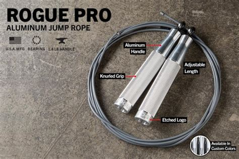 jump rope rogue pro aluminum conditioning