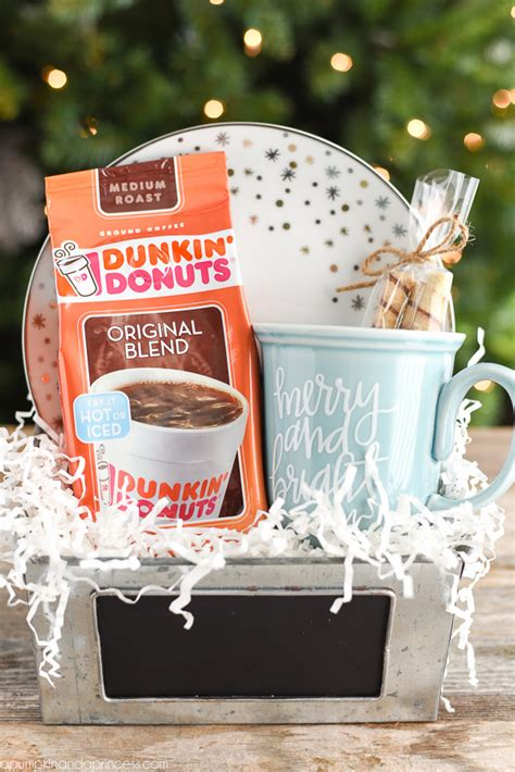 Gift baskets are perfect for those hard to shop for people on your list. Christmas Coffee Mug Gift - A Pumpkin And A Princess