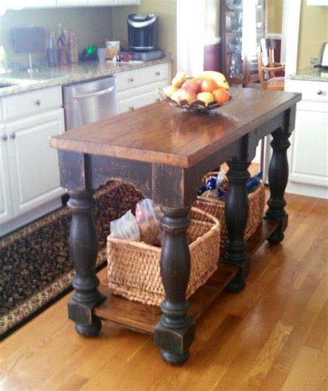 table island kitchen farmhouse table island 24 quot x 60 quot kitchen island farm 2646