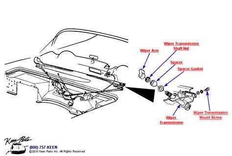 Corvette Wiper System Parts