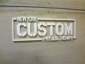 custom acrylic sign nyc acrylic office sign nyc With white plastic letters for signs