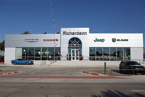 richardson chrysler jeep dodge ram texas  car